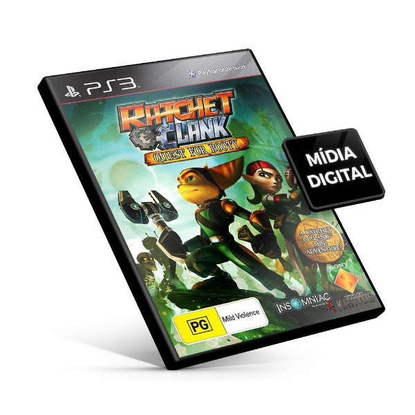 Ratchet & Clank® Future Quest for Booty - PS3 Mídia Digital