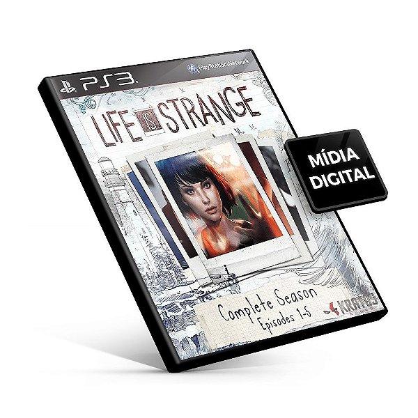 Life is Strange Complete Season - PS3 Mídia Digital