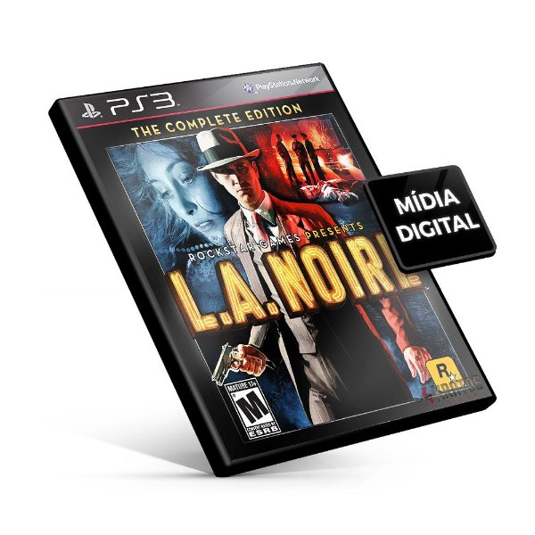 L.A. Noire The Complete Edition - PS3 Mídia Digital