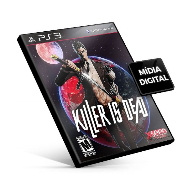KILLER IS DEAD - PS3 Mídia Digital