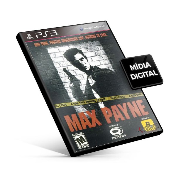 Max Payne® (PS2 Classic) - PS3 Mídia Digital