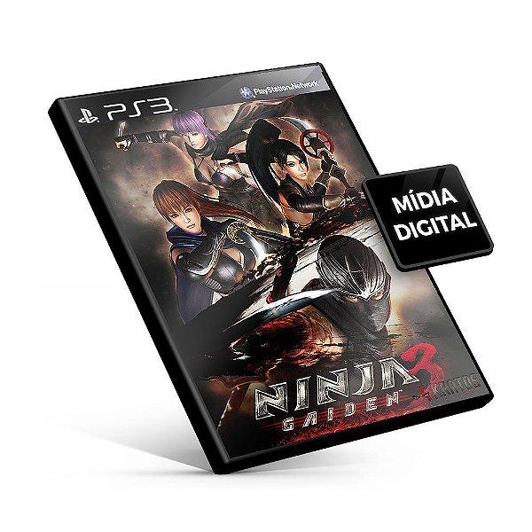 NINJA GAIDEN 3 RAZORS EDGE - PS3 Mídia Digital