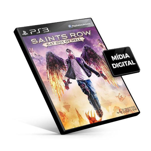Saints Row Gat Out of Hell - PS3 Mídia Digital