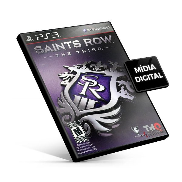Saints Row® The Third - PS3 Mídia Digital