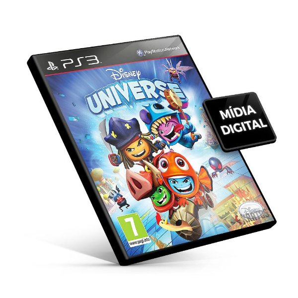Disney Universe - PS3 Mídia Digital