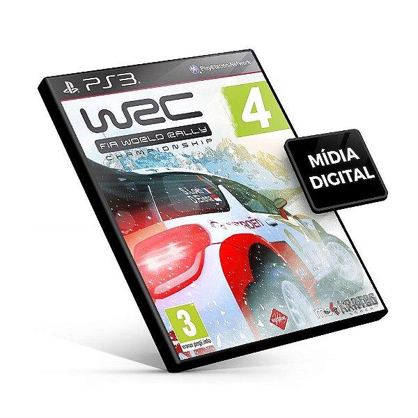 WRC 4 - FIA WORLD RALLY CHAMPIONSHIP - PS3 Mídia Digital