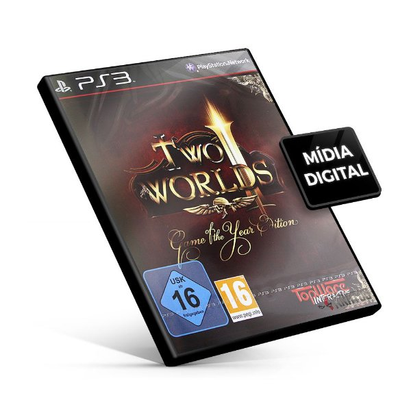 TWO WORLDS II VELVET GAME OF THE YEAR EDITION - PS3 Mídia Digital