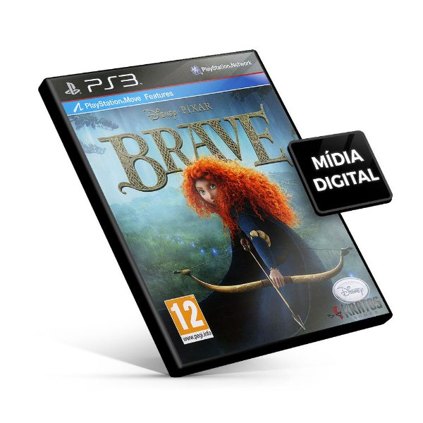 Disney•Pixar Brave - PS3 Mídia Digital