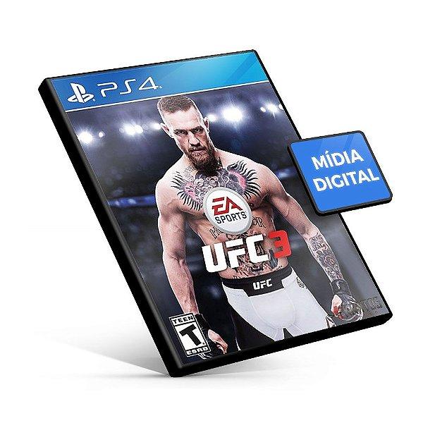 EA Sports UFC 3 - PS4 Mídia Digital