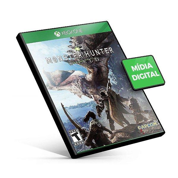 Monster Hunter World - Xbox One - Código 25 Dígitos