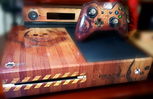 Skin Adesiva para Xbox One - Gears Of War 4