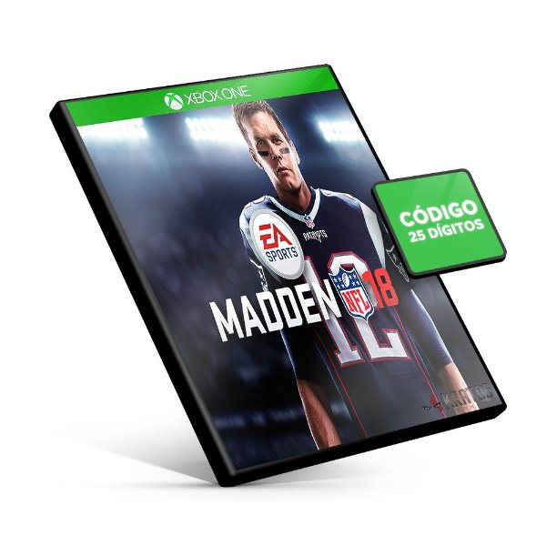 Madden NFL 18 - Xbox One - Código 25 Dígitos