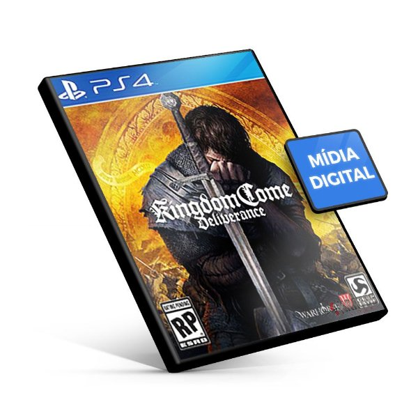 Kingdom Come: Deliverance - PS4 Mídia Digital