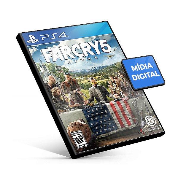 Far Cry 5 - PS4 Mídia Digital