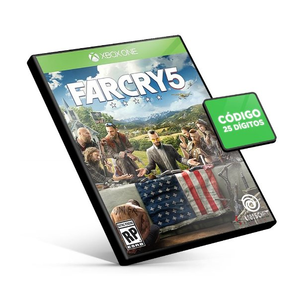Far Cry 5 - Xbox One - Código 25 Dígitos