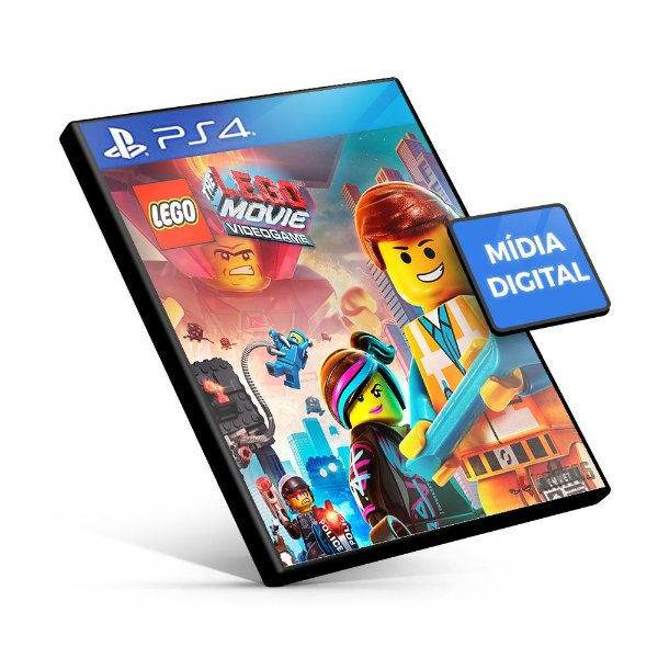 The Lego Movie Videogame - PS4 Mídia Digital