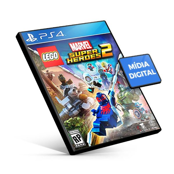 LEGO Marvel Super Heroes 2 - PS4 Mídia Digital