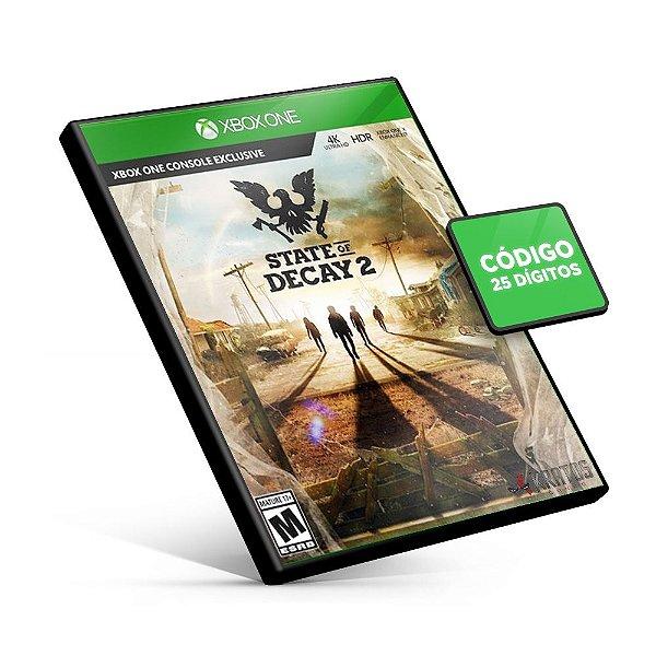 State of Decay 2 - Xbox One - Código 25 Dígitos