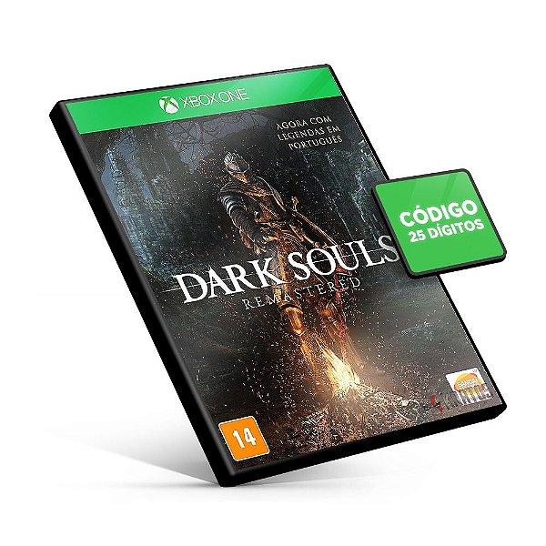 Dark Souls Remastered - Xbox One - Código 25 Dígitos