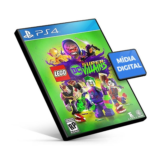 Lego DC Super-Vilões PS4 Mídia Digital