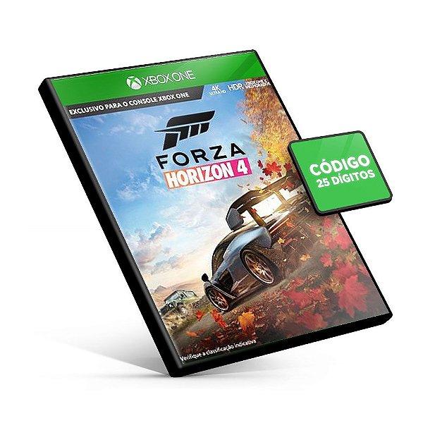Forza Horizon 4 - Xbox One - Código 25 Dígitos