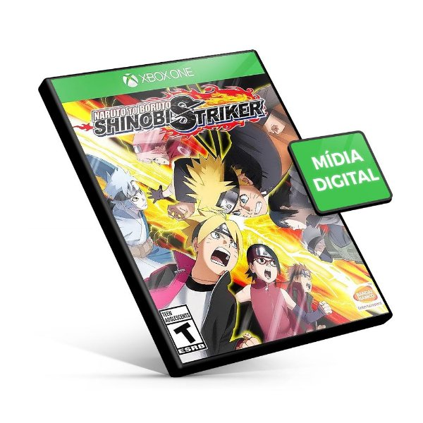 Naruto Boruto Shinobi Striker - Xbox One - Mídia Digital