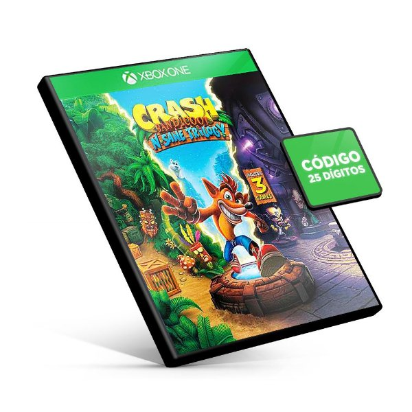 Crash Bandicoot N. Trilogy - Xbox One - Código 25 Dígitos