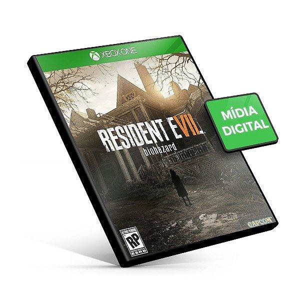 Resident Evil 7 Biohazard - Xbox One - Mídia Digital