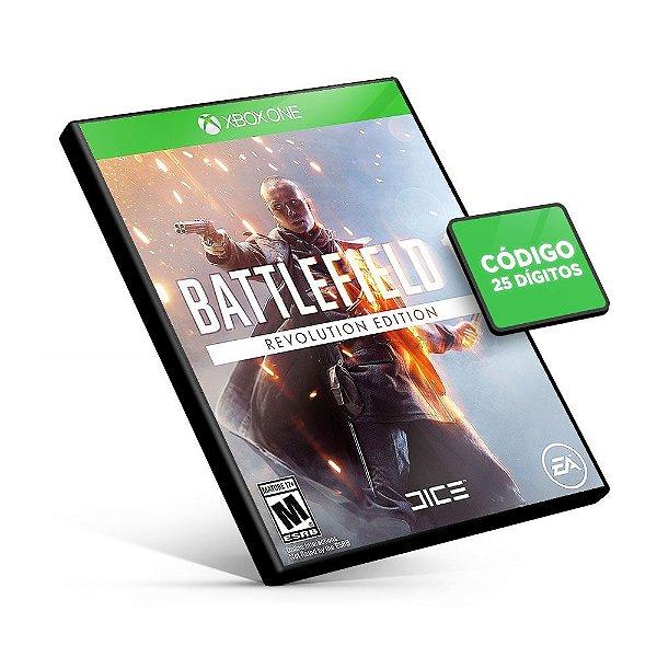 Battlefield 1 Revolution - Xbox One - Código 25 Dígitos