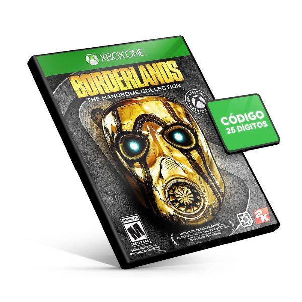 Borderlands The Handsome Collection - Xbox One - Código 25 Dígitos