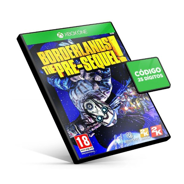 Borderlands: The Pre-Sequel - Xbox One - Código 25 Dígitos