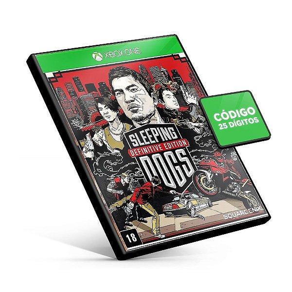 Sleeping Dogs Definitive Edition - Xbox One - Código 25 Dígitos