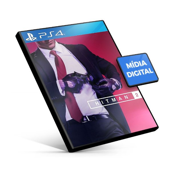 HITMAN 2 - PS4 Mídia Digital