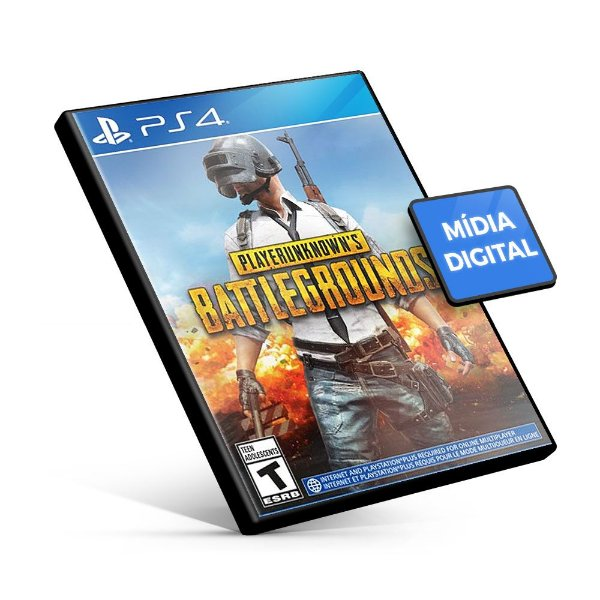 PUBG - PLAYERUNKNOWN'S BATTLEGROUNDS – PS4 Mídia Digital