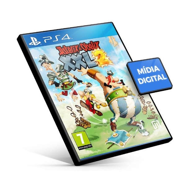 Asterix & Obelix XXL 2 PS4 Mídia Digital