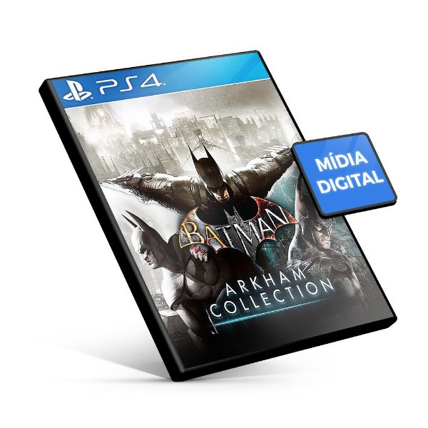 Batman Arkham Collection PS4 Mídia Digital