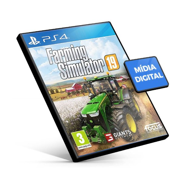 Farming Simulator 19 PS4 Mídia Digital