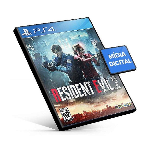 RESIDENT EVIL 2 REMAKE - PS4 - Mídia Digital