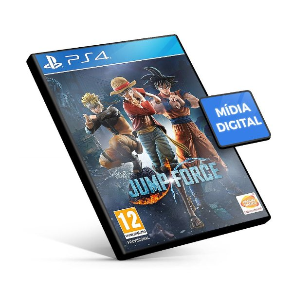 Jump Force PS4 - Mídia Digital