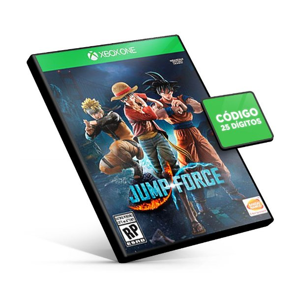 Jump Force Xbox One - Código 25 Dígitos