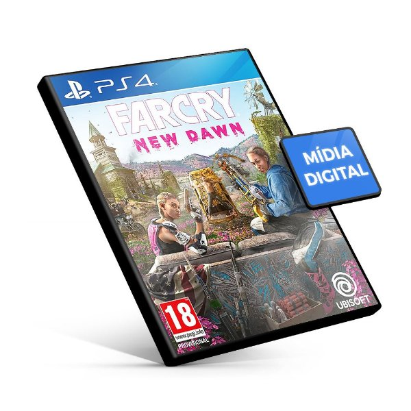 Far Cry New Dawn PS4 - Mídia Digital