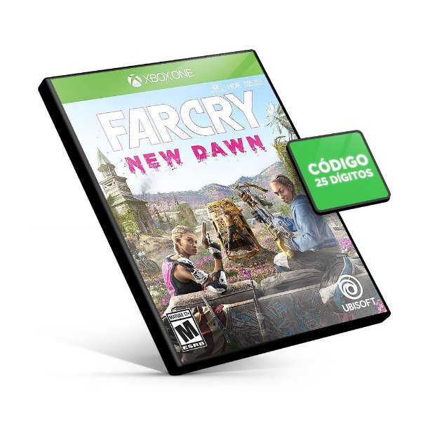 Far Cry New Dawn XBOX ONE - Código 25 Digitos
