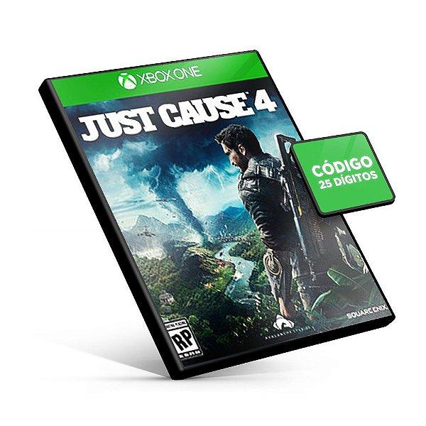 JUST CAUSE 4 - Xbox One - Código 25 Dígitos