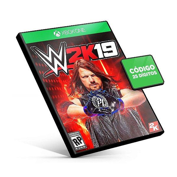 WWE 2k19 - Xbox One - Código 25 Dígitos