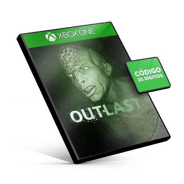Outlast  - Xbox One - Código 25 Dígitos