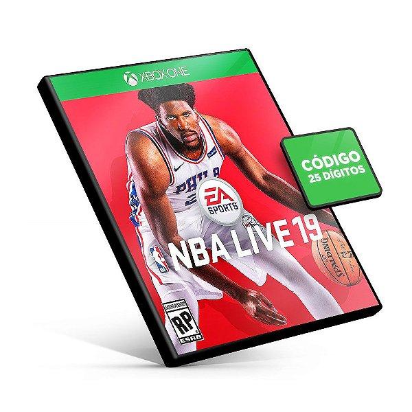 NBA LIVE 19  - Xbox One - Código 25 Dígitos