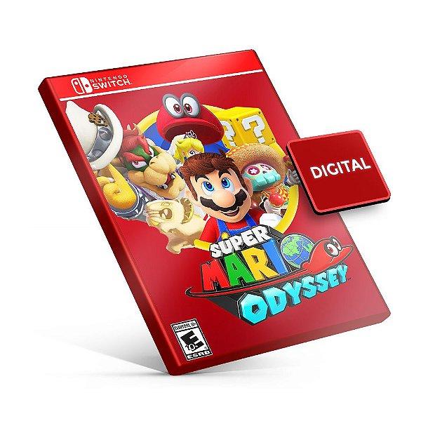 Super Mario Odyssey - Nintendo Switch Mídia Digital