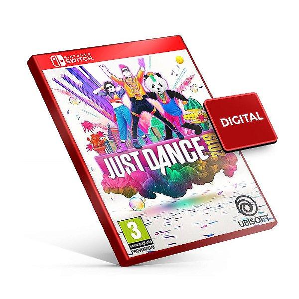 Just Dance 2019 - Nintendo Switch Mídia Digital