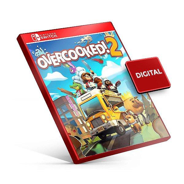 Overcooked 2 - Nintendo Switch Mídia Digital