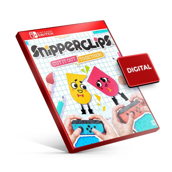 Snipperclips Plus - Cut it out, together - Nintendo Switch Mídia Digital